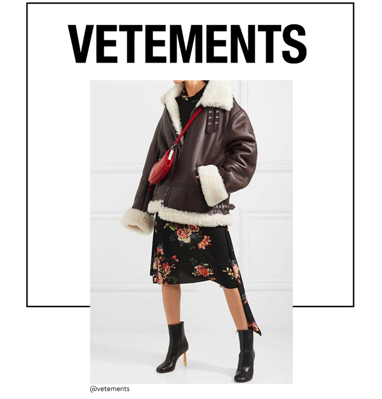 Vetements trending fashion brand at Brick and Portal
