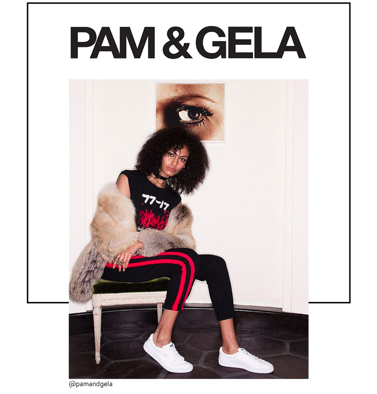 Pam & Gela trending fashion brand at Brick and Portal