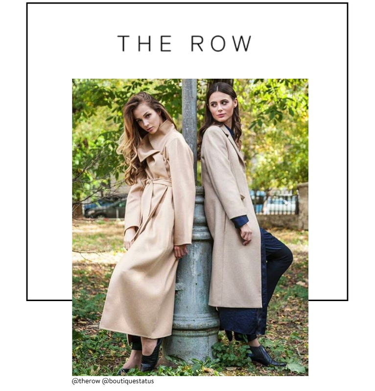 The Row trending fashion brands at Brick and Portal