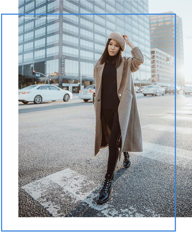 Oversized Tailored Coat Brick and Portal