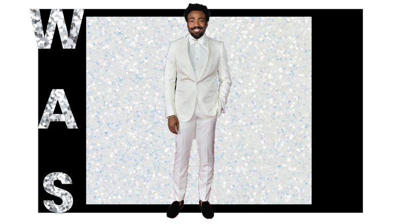 Donald Glover Suit Grammys 2018 Brick and Portal
