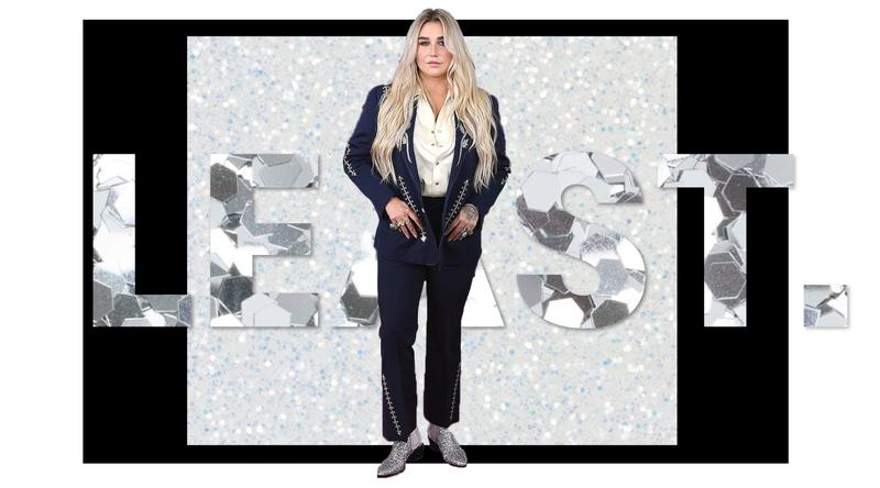 Kesha Grammys 2018 Look Brick and Portal