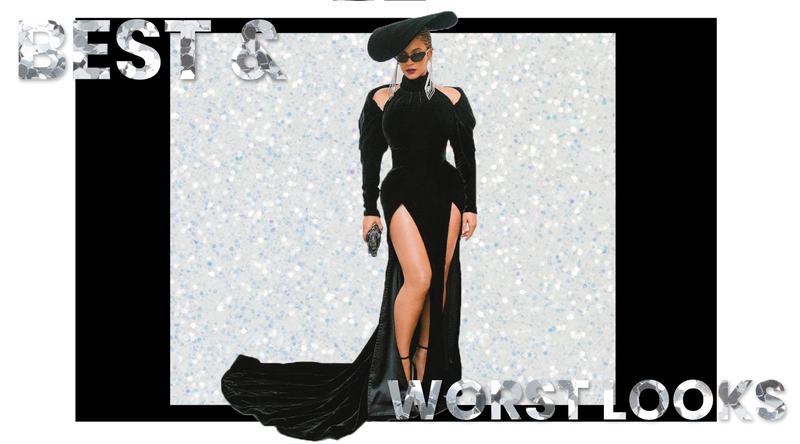 Beyonce Grammys 2018 Dress Brick and Portal
