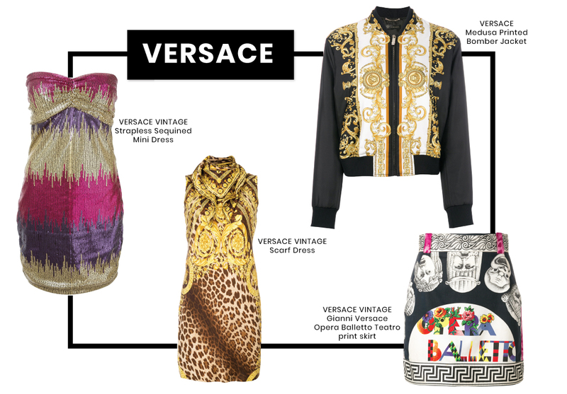 Iconic Designers Guide Brick and Portal Versace